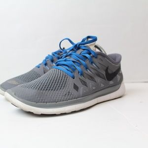 nike free run 5.0 cool gray size 7y